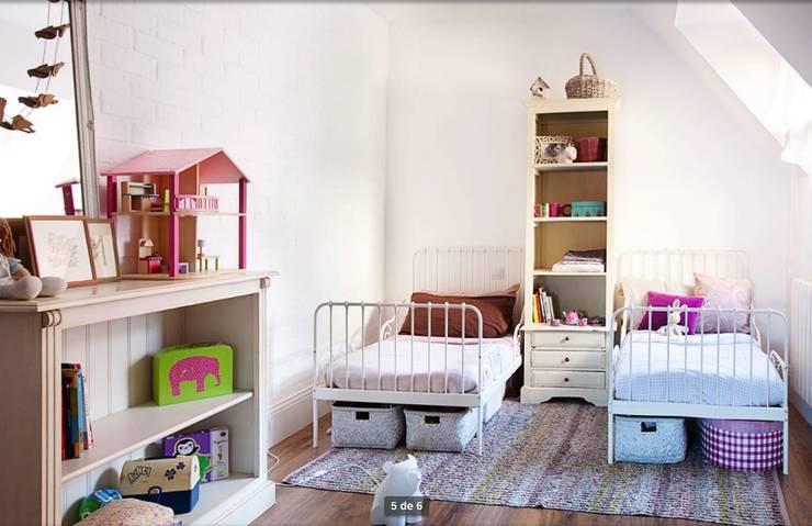 Habitación para niñas. Foto: Patricia Gallego para Mí Casa. HEARST magazines I España.: Dormitorios infantiles de estilo  de decoraCCion