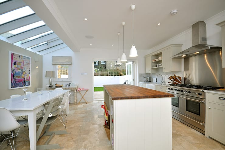 Fulham 1:  Kitchen by MDSX Contractors Ltd