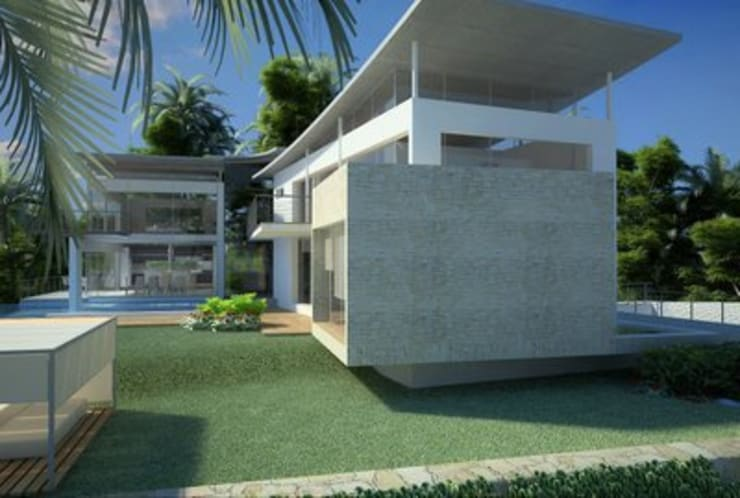 Casa familiar: Casas de estilo moderno de Alia B Designs