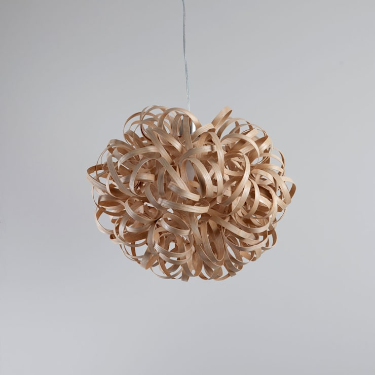No 1 Pendant Ash:   by Tom Raffield