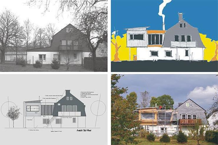 Casas modernas por Architekturbüro HOFFMANN