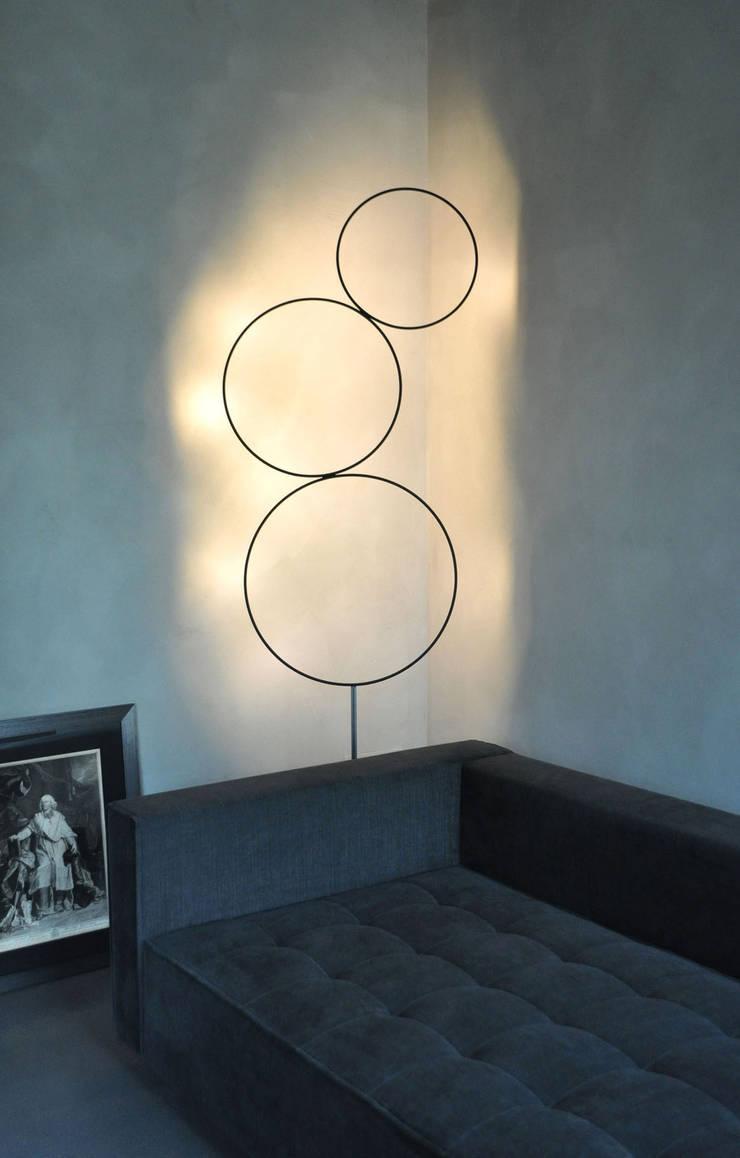 Living room by Studio di Architettura Rosso19