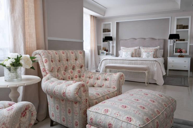 Residencial: Dormitorios de estilo  de Adriana F. Lopez - Barajas I Estudio de Interiorismo