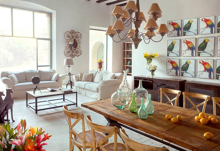 Projekty,  Jadalnia zaprojektowane przez Quino Prades