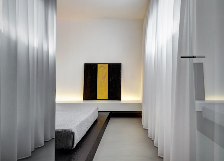 臥室 by Buratti + Battiston Architects