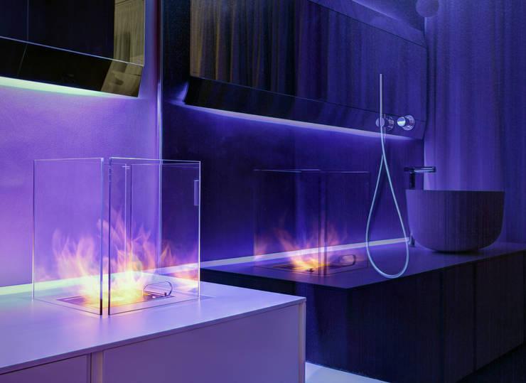 浴室 by Buratti + Battiston Architects