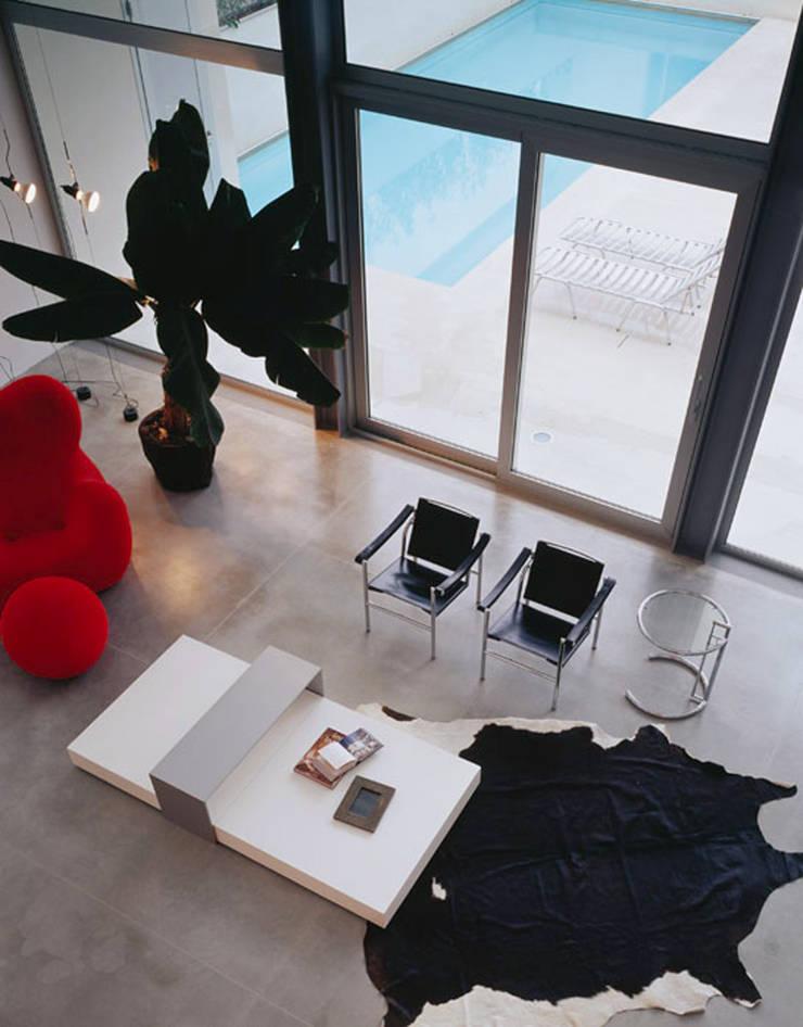 Salas de estilo  por Buratti + Battiston Architects