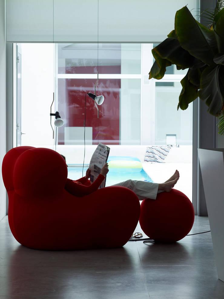 Salones de estilo  por Buratti + Battiston Architects