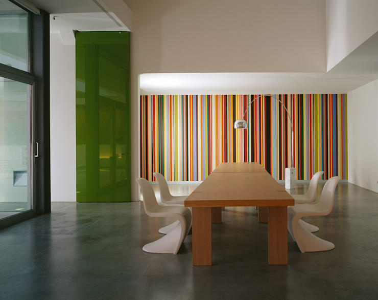 Comedores de estilo  por Buratti + Battiston Architects