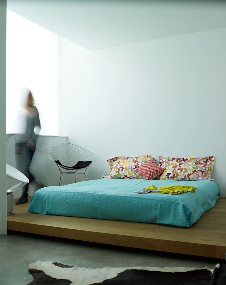 Habitaciones de estilo  por Buratti + Battiston Architects
