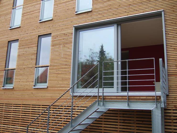 zymara und loitzenbauer architekten bda:  tarz Evler, Modern