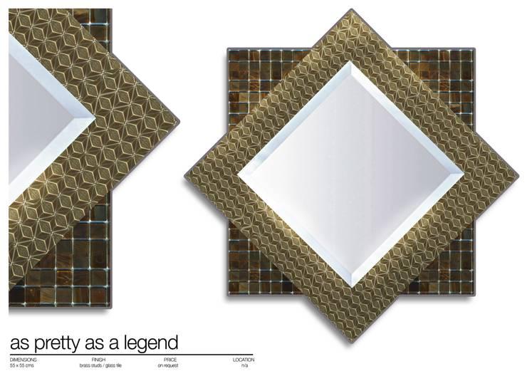 por Martin Brown Mosaics Moderno
