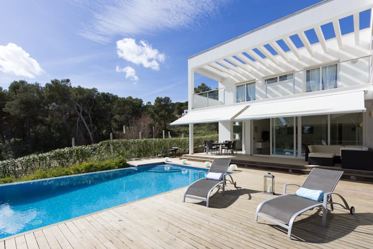 Moderne Pools von Home Deco Decoración Modern