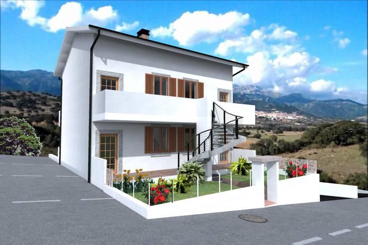 Appartamenti estivi - Sardegna:  in stile  di Marco D'Andrea Architettura Interior Design