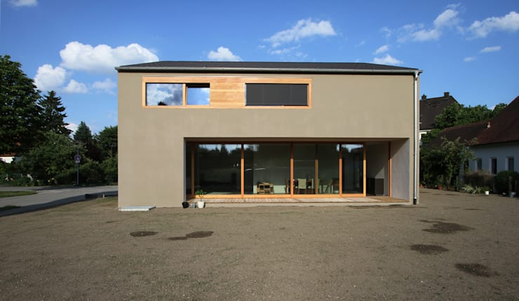 modern Houses by architekturbüro axel baudendistel