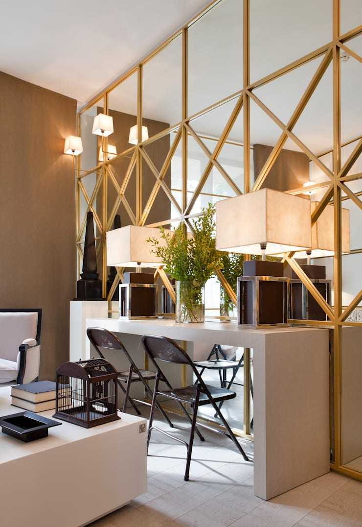 Salones de estilo  por MANUEL ESPEJO ESTUDIO