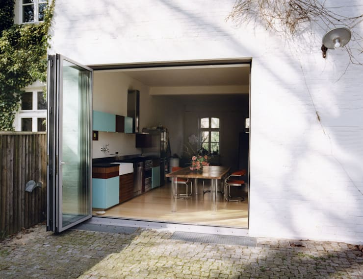 and8 Architekten Aisslinger + Bracht:  tarz Teras