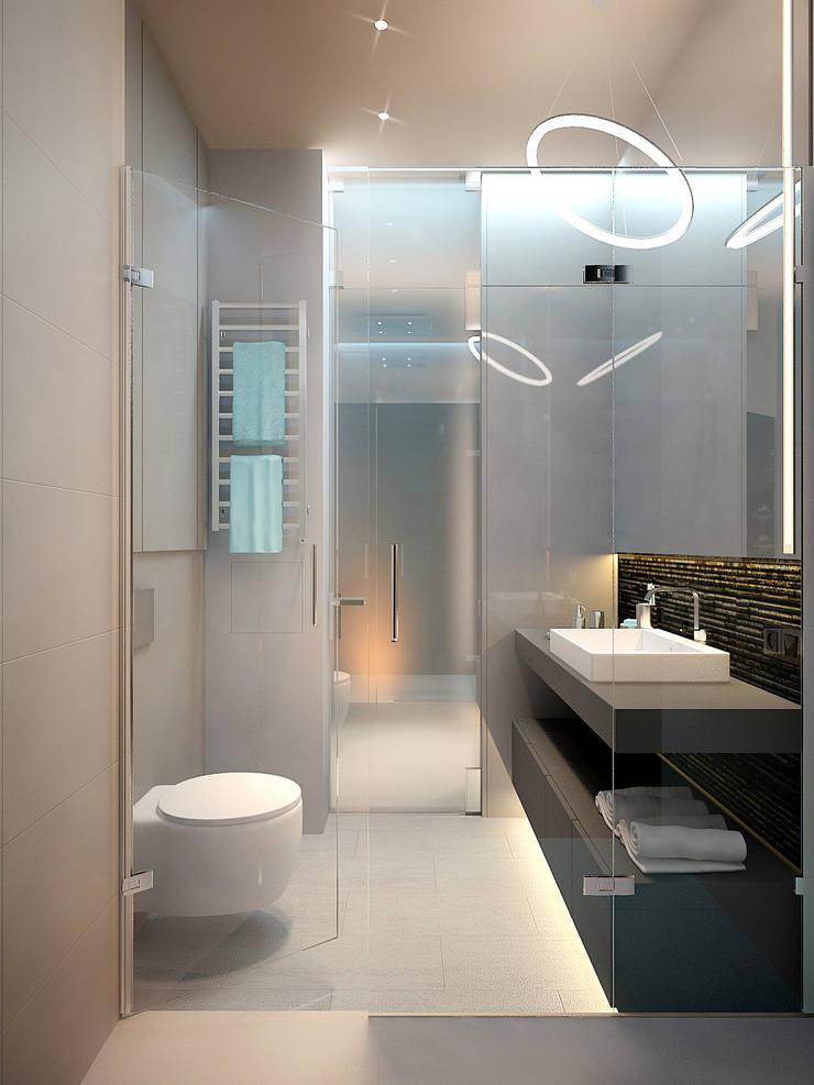 Апартаменты на Белинского: Ванные комнаты в . Автор – Dmitriy Khanin