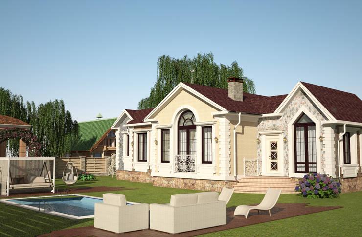 Casas de estilo  por Гурьянова Наталья