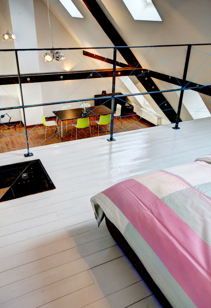 Dachloft:  Schlafzimmer von Lichters Living,