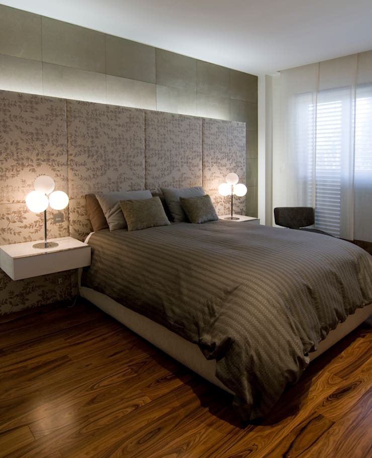Dúplex: Dormitorios de estilo  de AZ Diseño