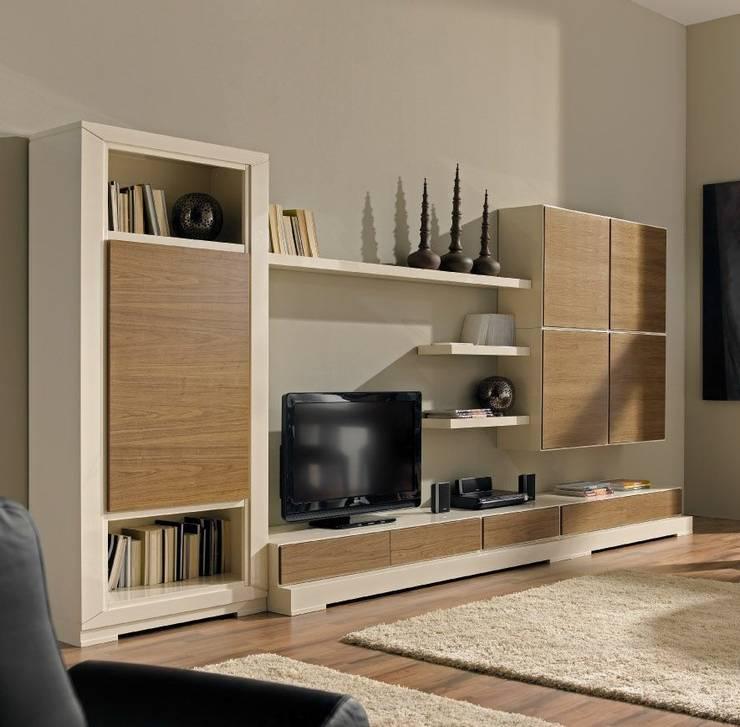 Salas de estilo  por MUMARQ ARQUITECTURA E INTERIORISMO