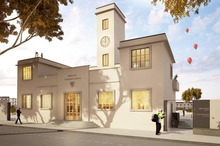 Casas de estilo moderno por QBatelier + FèRiMa