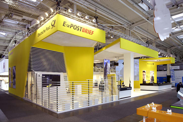 Exhibition centres by Gellink + Schwämmlein Architekten