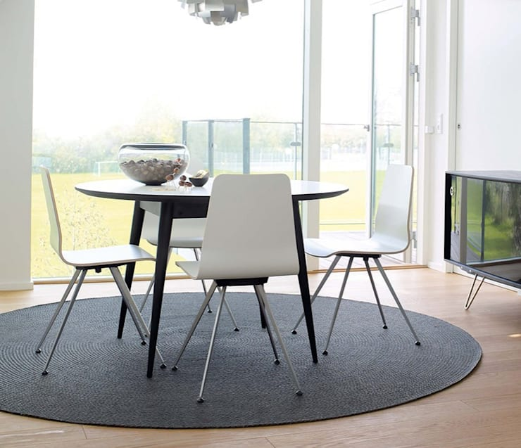 Comedor de estilo  por Wharfside Furniture