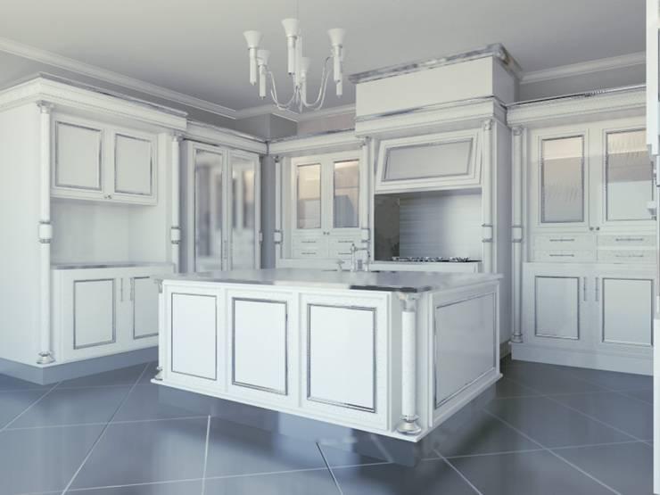 Linea white: Cucina in stile  di elisalage