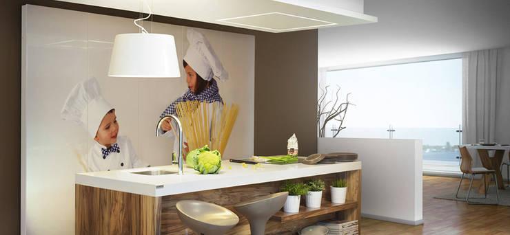 COCINAS: Cocina de estilo  de Muebles Flores Torreblanca