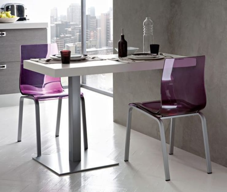 COCINAS: Comedores de estilo minimalista de Muebles Flores Torreblanca