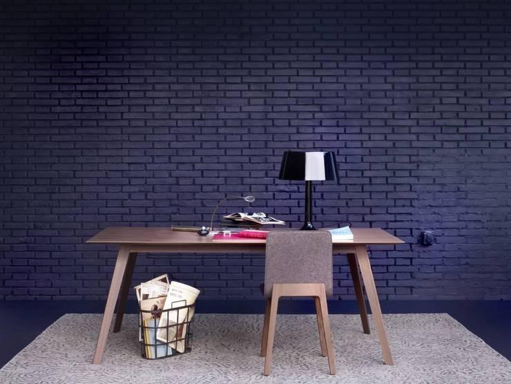 DESPACHOS Y OFICINAS: Estudio de estilo  de Muebles Flores Torreblanca