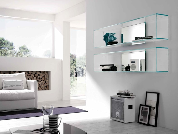 Salas/Recibidores de estilo moderno por Muebles Flores Torreblanca