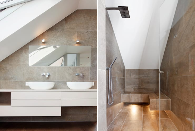 WSM ARCHITEKTEN:  tarz Banyo