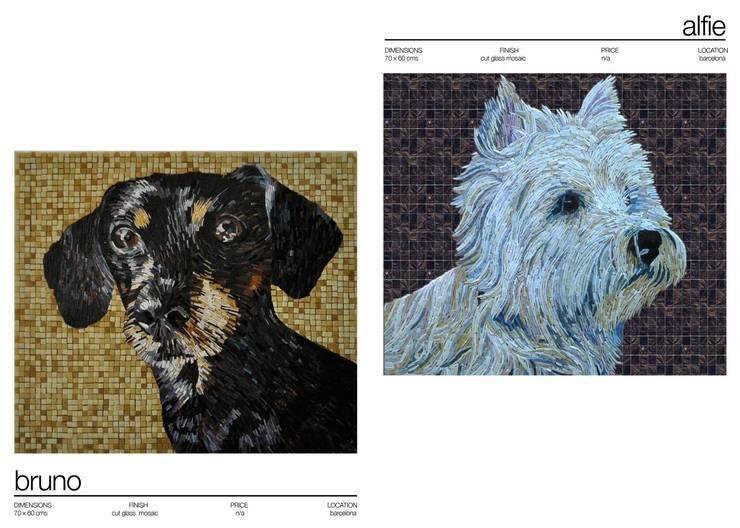Wände & Boden von Martin Brown Mosaics