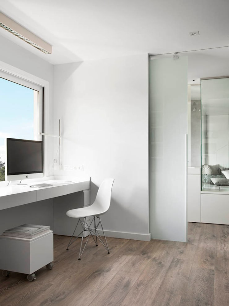 Expresión Transversal Estudios y despachos de estilo moderno de Susanna Cots Interior Design Moderno