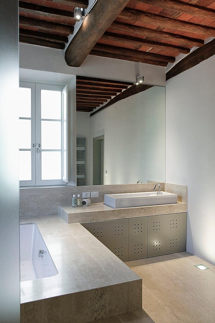 modern Bathroom by Massimo Fiorido Associati