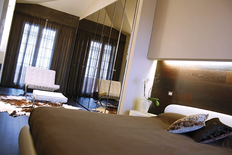 Enrico Muscioni Architect が手掛けた寝室
