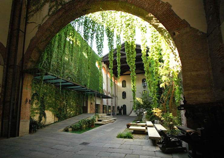 Comoglio Architettiが手掛けた庭
