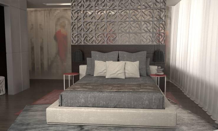 Hotel Suite: Dormitorios de estilo  por GG&Asociados