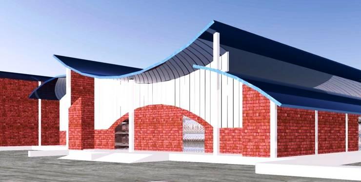 Aspecto de la fachada:  de estilo  por ARQUELIGE