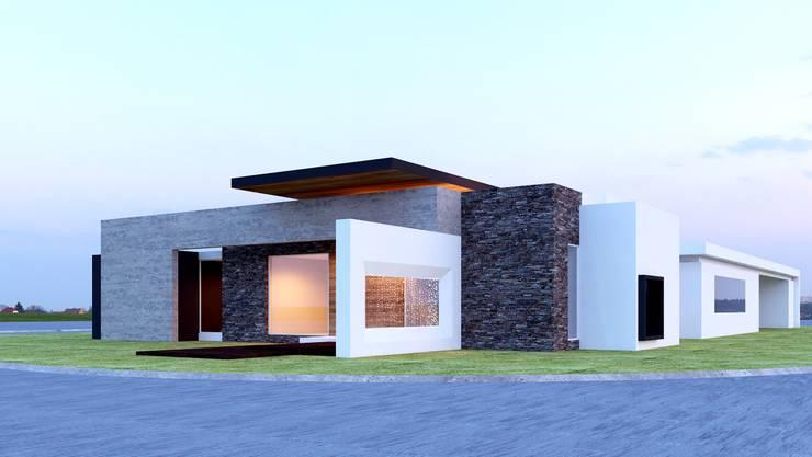 BELLEZA ABSOLUTA: Casas de estilo  por SYD CONSTRUCTORES