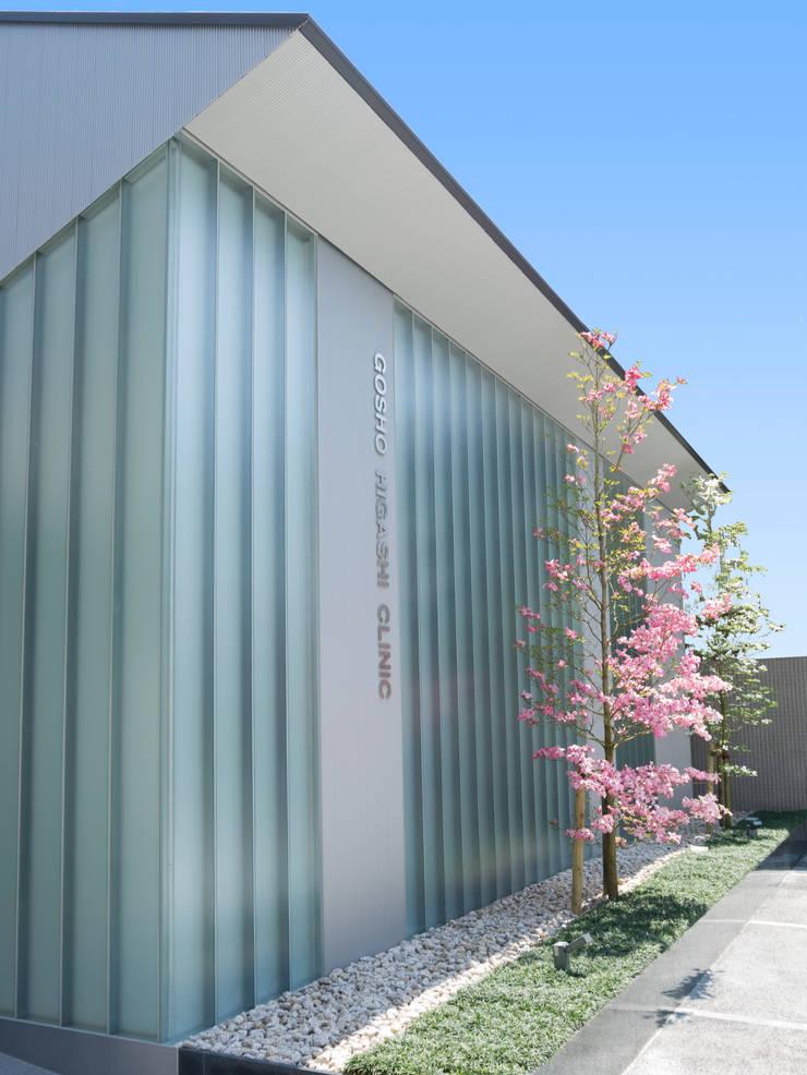 外観近景1:       古津真一 翔設計工房一級建築士事務所が手掛けた家です。