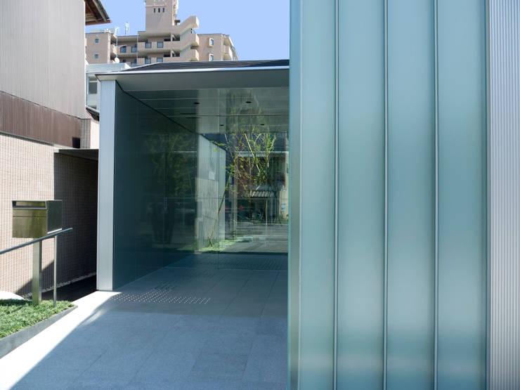 外観近景2:       古津真一 翔設計工房一級建築士事務所が手掛けた家です。