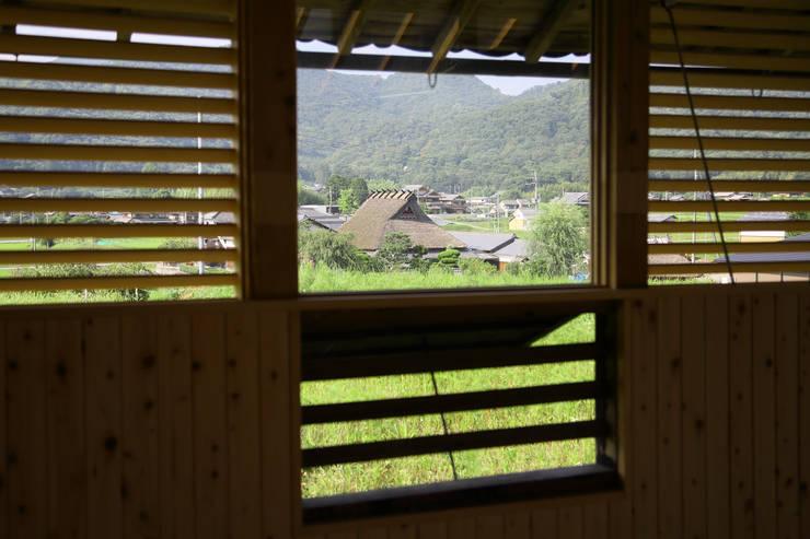 三田の農家-ANNEX/GAZEBO: eu建築設計が手掛けた窓です。,