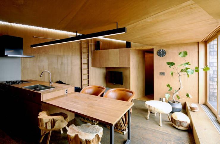 eu建築設計: kırsal tarz tarz Yemek Odası