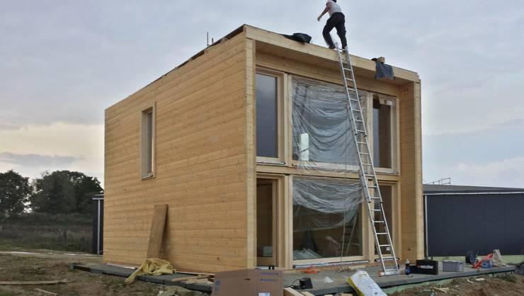 Cabanes en bois de style  par THULE Blockhaus GmbH