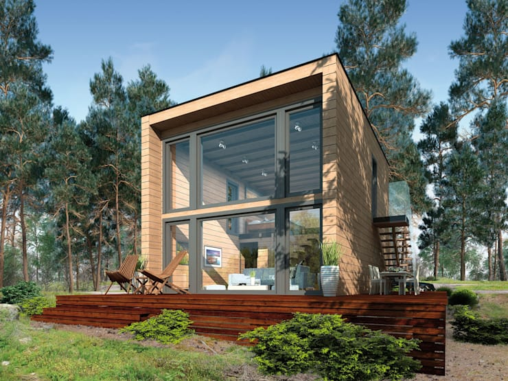 Chòi by THULE Blockhaus GmbH