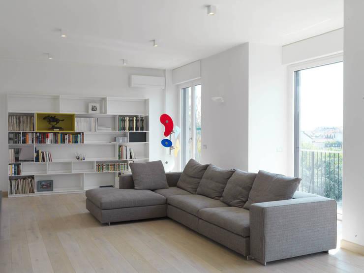 غرفة المعيشة تنفيذ enzoferrara architetti
